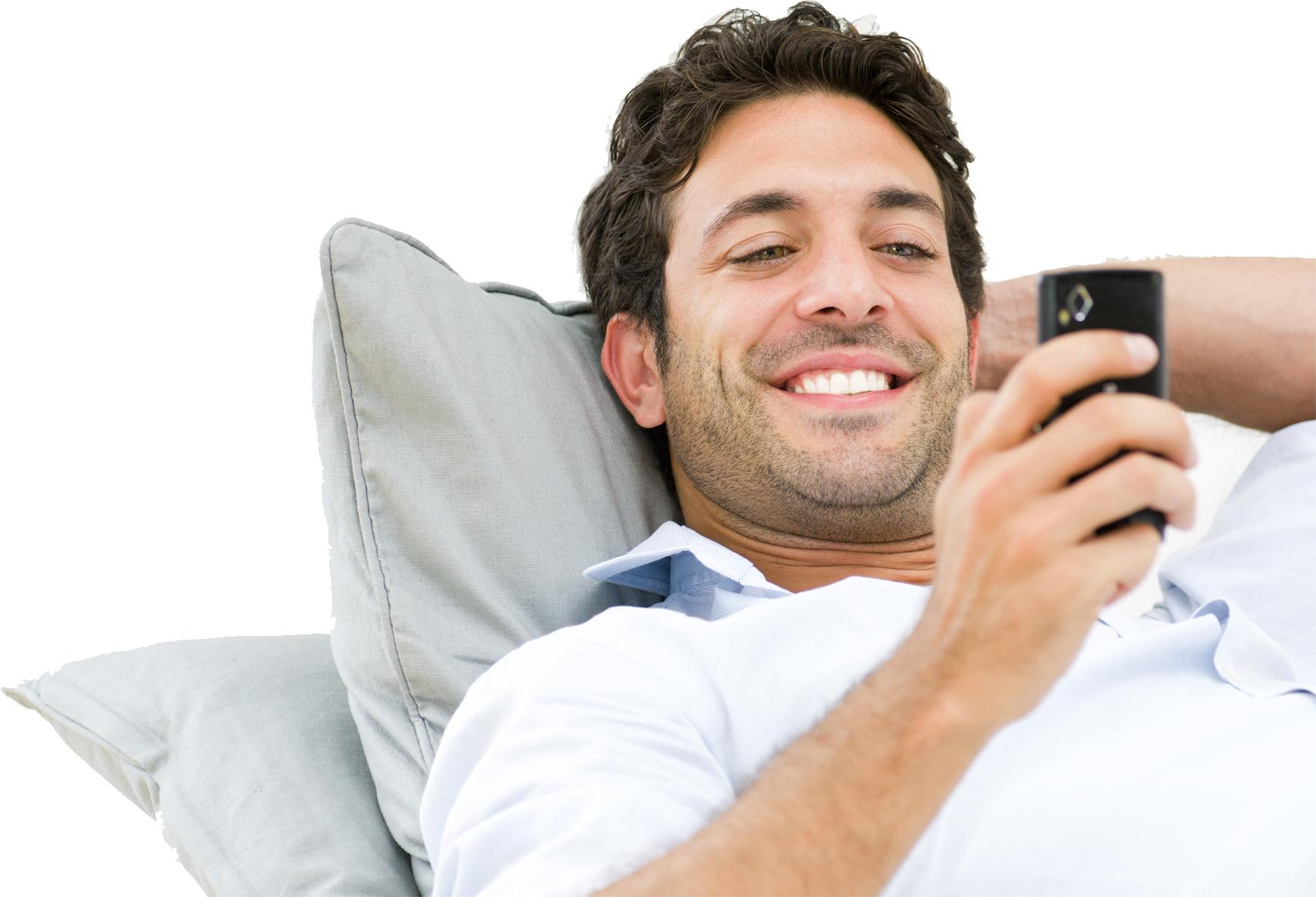 smartphone smile