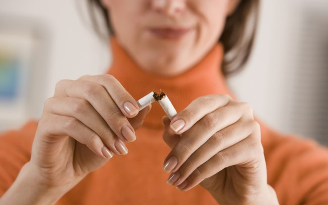 corte o cigarro